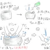 【新定番】食器洗いを「つけ置き洗い」に変えたらストレスが半減した件!