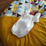 【写真映え◎】洛中高岡屋のせんべい座布団にねんねする赤ちゃんが可愛すぎる!