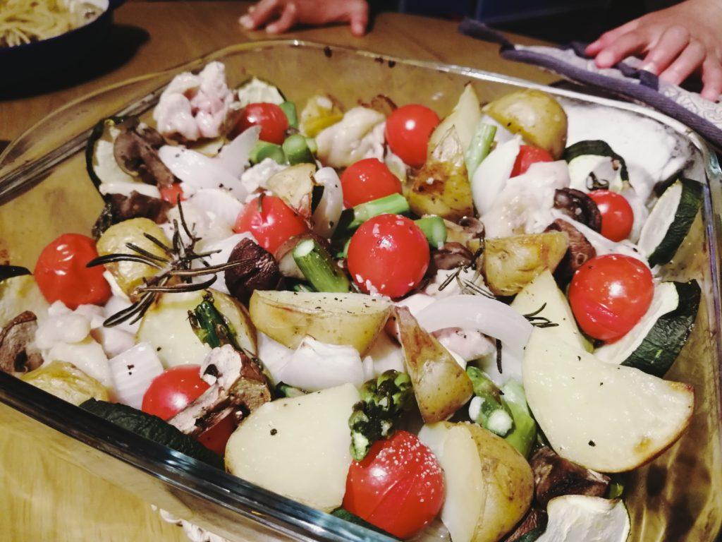 グリル 野菜